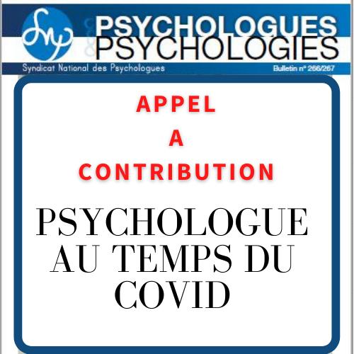 [Psychologues & Psychologies] Appels à contribution